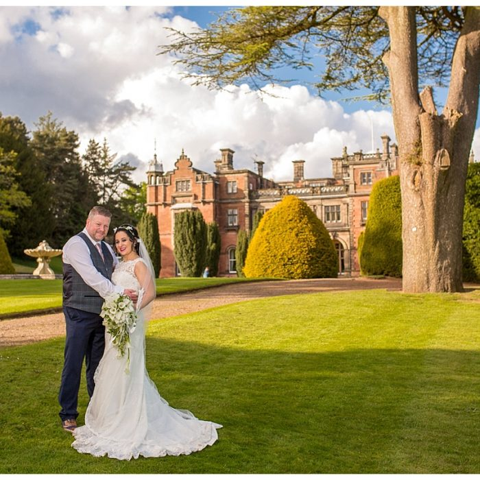 Keele Hall Wedding - Mr and Mrs Salt